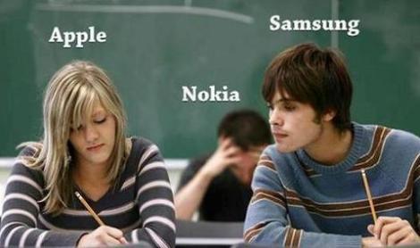 Apple, Samsung, Nokia