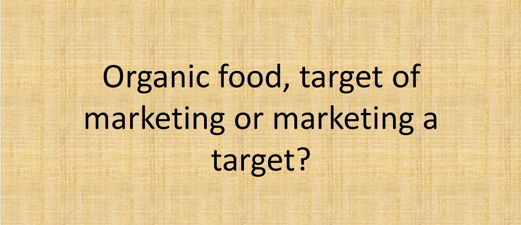 Value Proposition For Organic Food