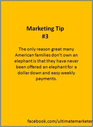 Marketing tip #3