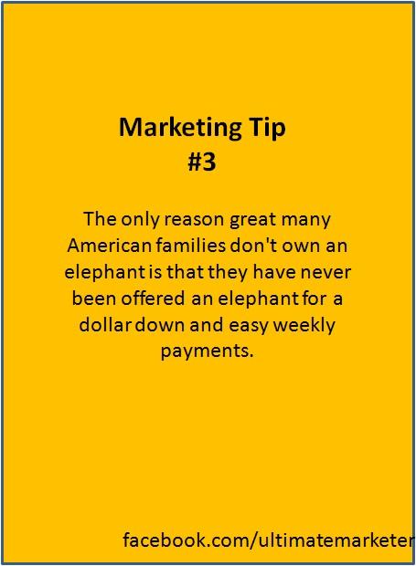 marketing tip 3