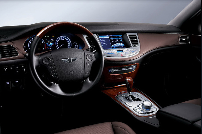 Hyundai Genesis Sedan   Interior By Hermes