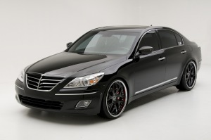 Hyundai Genesis Sedan- luxury car