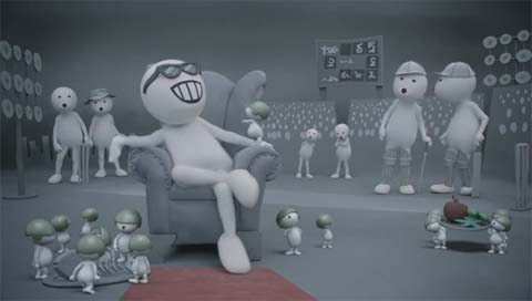 vodafone zoozoo army- new ads
