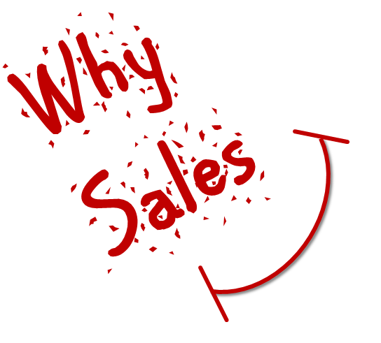 why sales, importance of sales